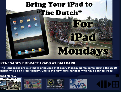 Bring Your iPad for Discount Days