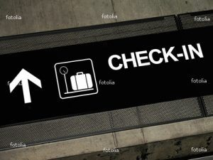Check-in, Check-out
