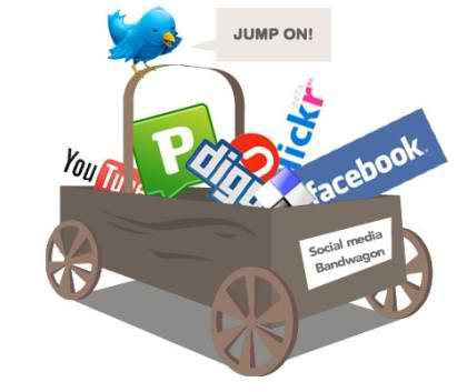 Riding the Social Media Bandwagon