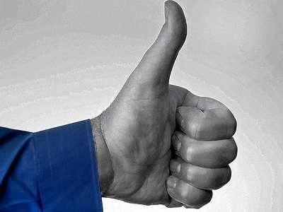 Facebook Thumbs Up Like Hand