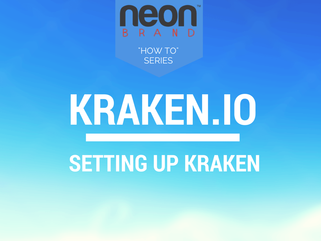 How to Optimize Images with Kraken.IO