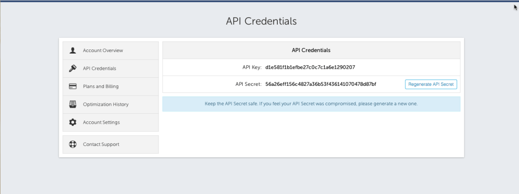 Kraken API Credentials
