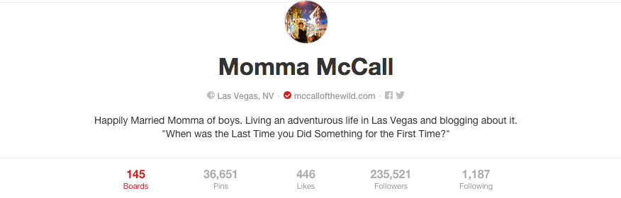McCall Humes Pinterest