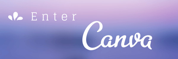 Enter Canva.com