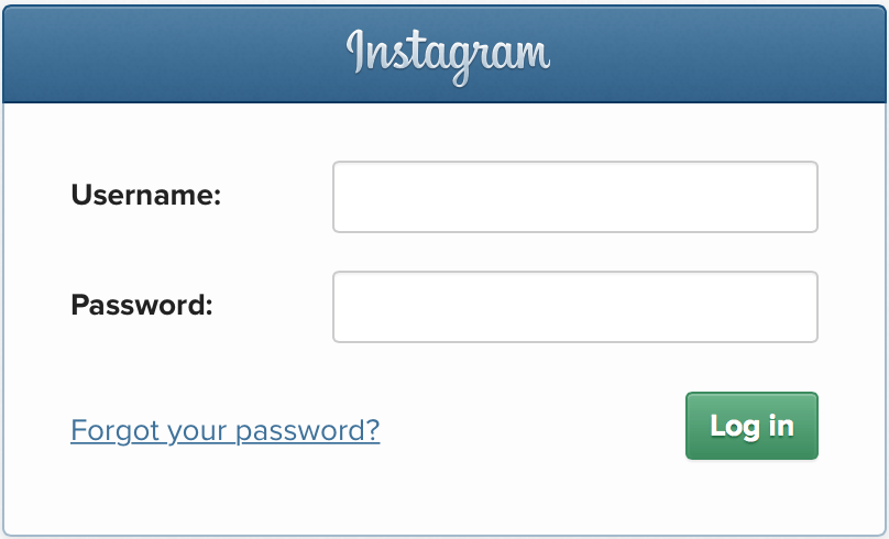 Access to Instagram Account