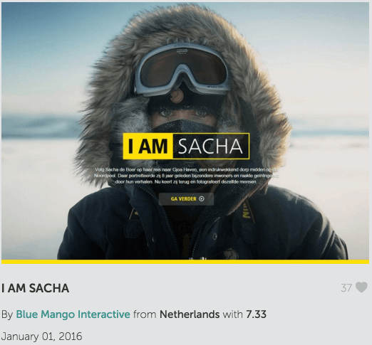 I am Sacha - Website of the Day