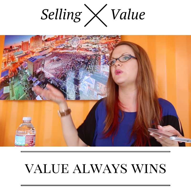Selling vs Creating Value on Social Media
