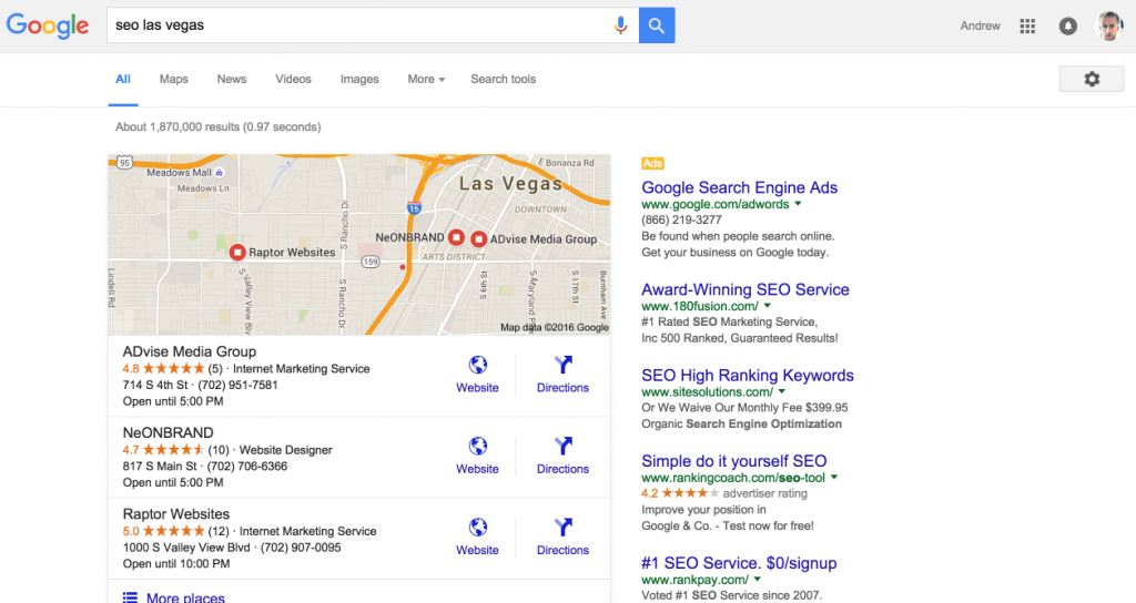 Local Search for your Website - Local Search Optimization
