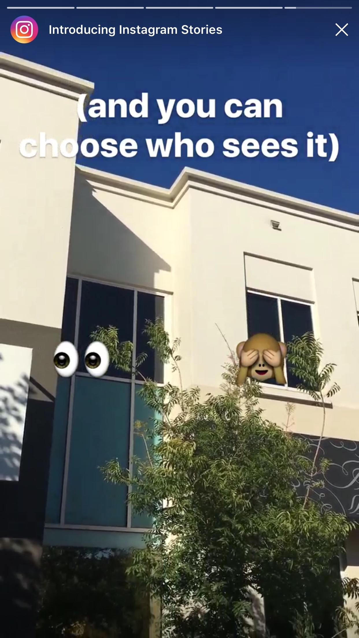 Instagram Stories Demo