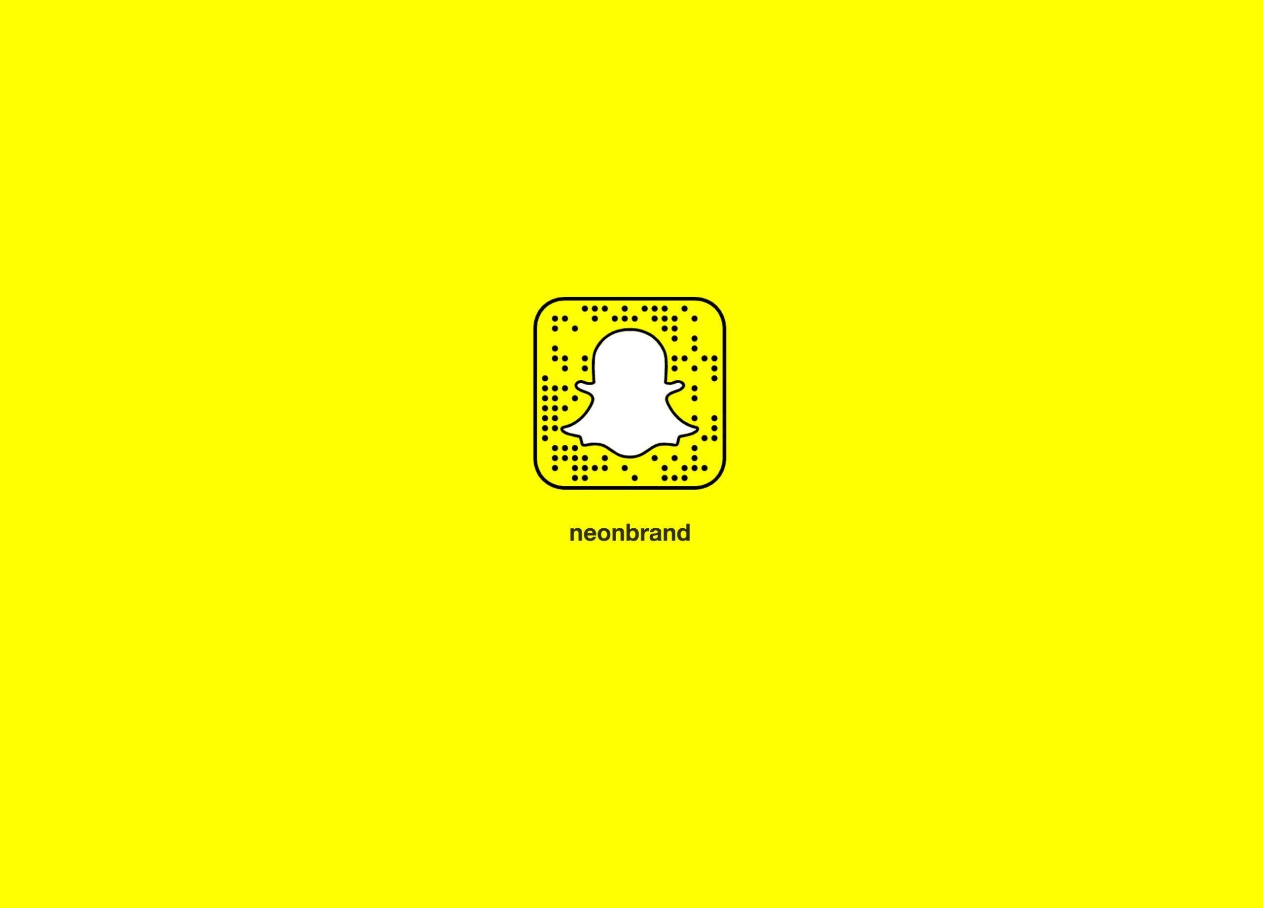 NeONBRAND Snapchat