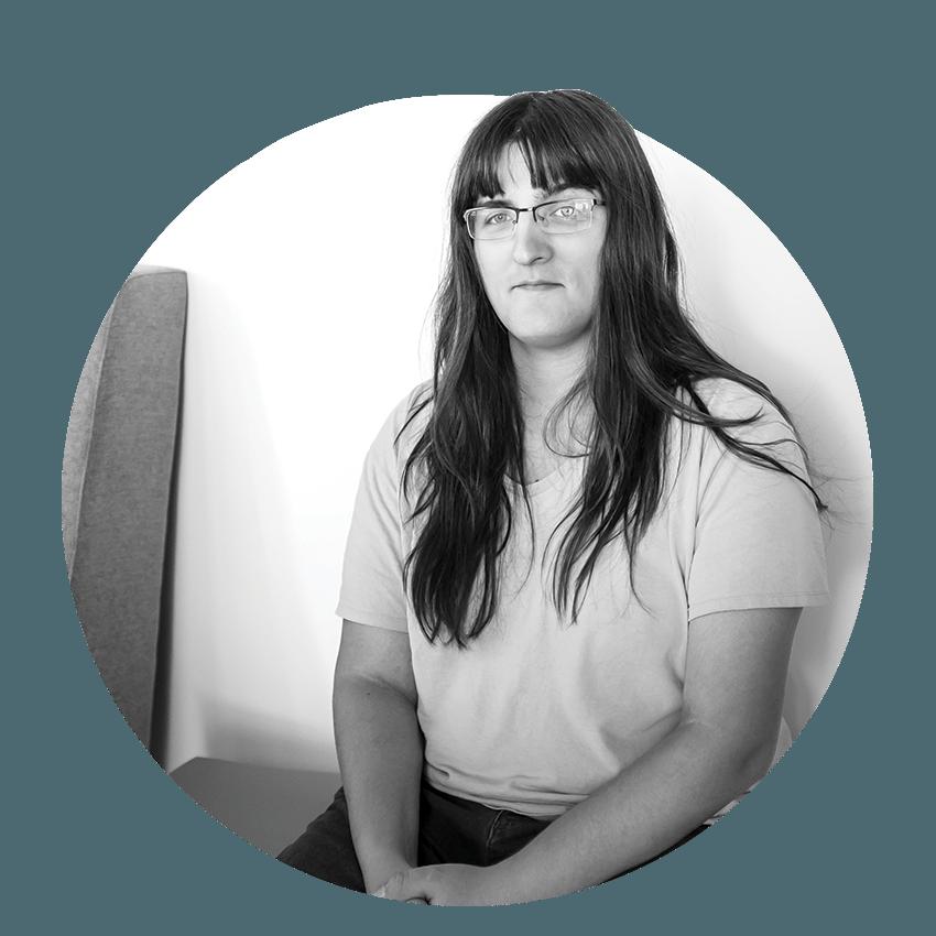 Erin Brown, junior web developer