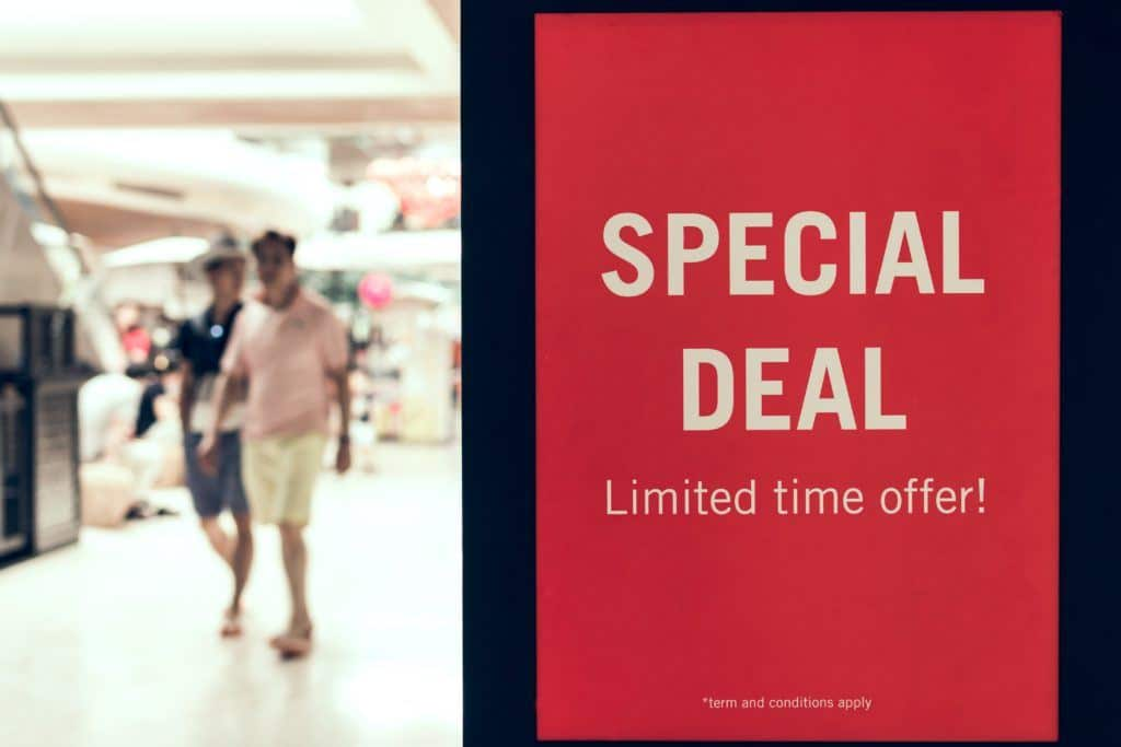 Limited Time Offer - Special Deal